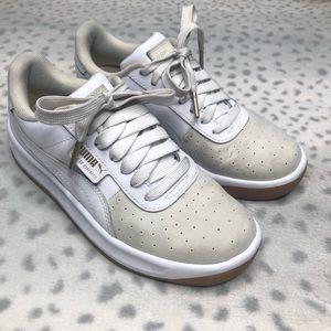 Puma California Exotic Sneaker Leather Nubuck Shoe